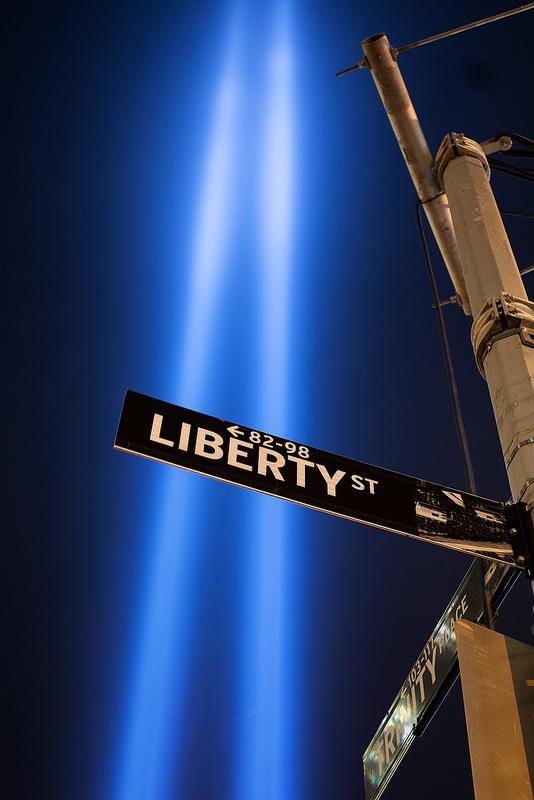 Zuccotti Park, Manhattan, 2013