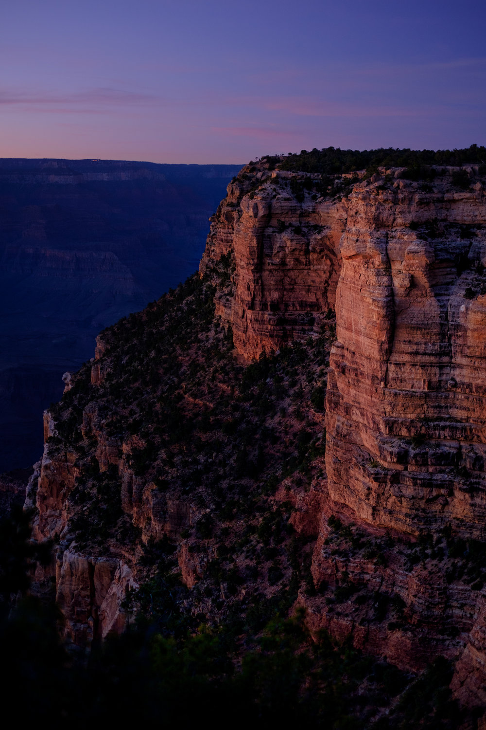 Canyon Blue Hour