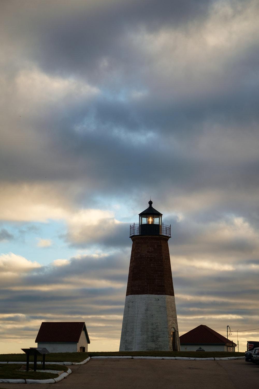 Point Judith Lighthouse. Point Judith, RI.November 2015.