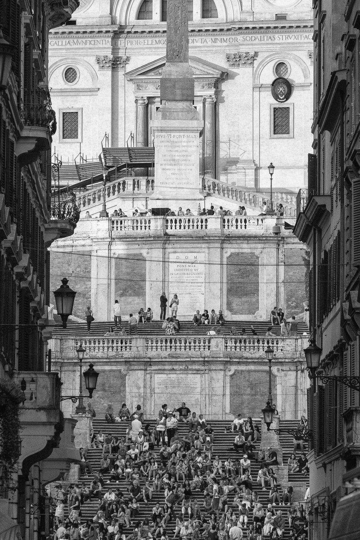 Piazza di Spagna, Rome. June, 2013