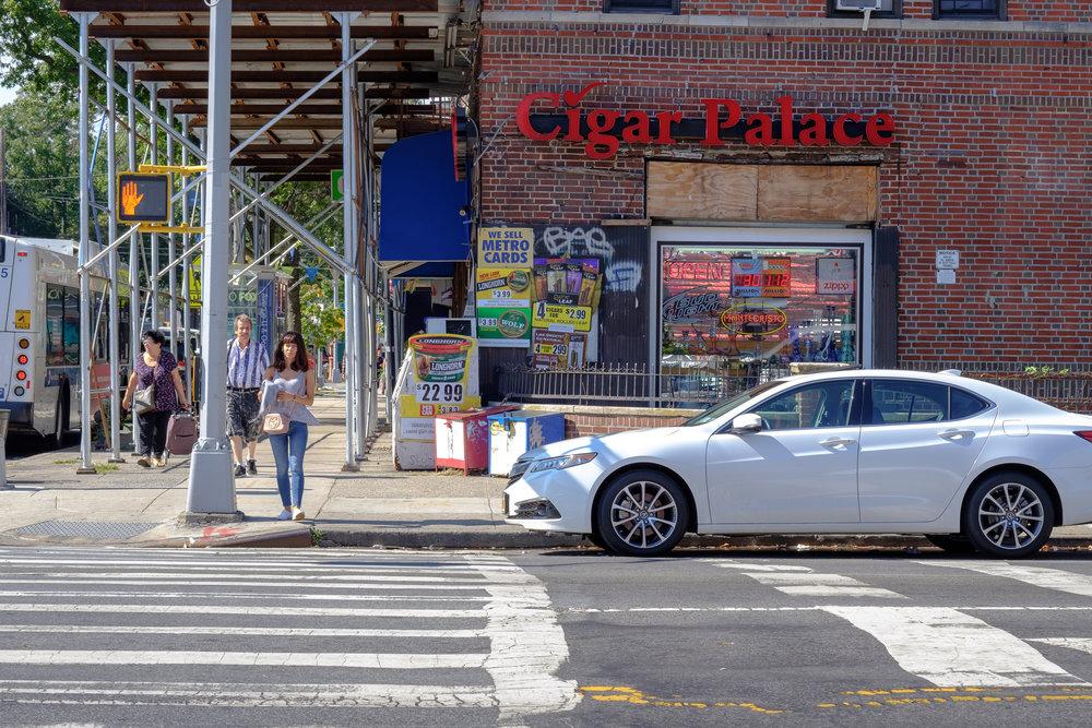 Avenue U. Sheepshead Bay, Brooklyn.