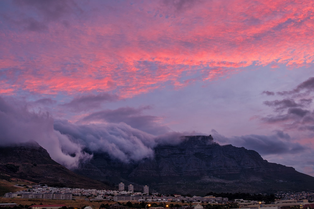 Table Mountain, Cape Town. November, 2017