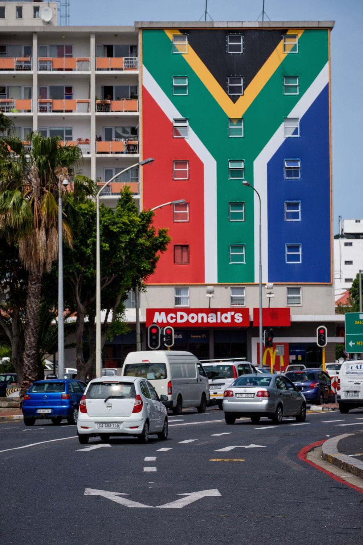 Long Street, Cape Town.Cornell Skop, Botriver.November, 2017