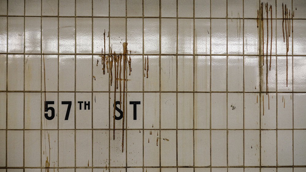 F Train. 57th Street