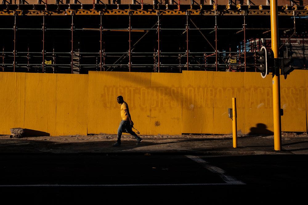 """We were all yellow"" November 17, 2017. Cape Town, South Africa Fujifilm X-Pro2, 23mm, f/2.8, 1/8000, ISO 400"