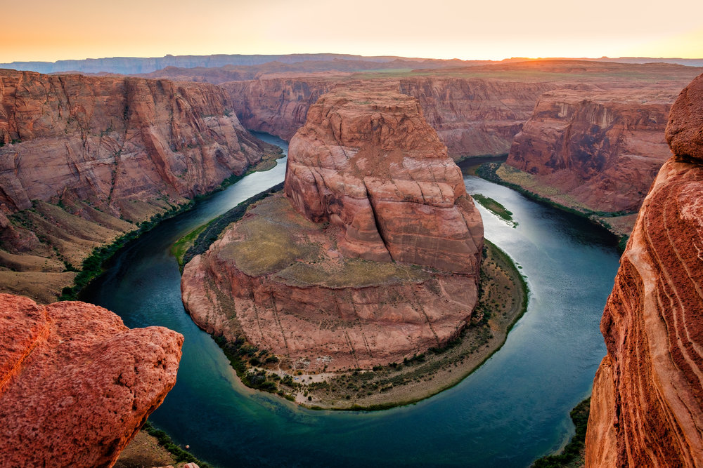 """Horseshoe Bend"" June 8, 2017. Page, Arizona Fujifilm X-Pro2, 14mm, f/8, 1/13, ISO 200"