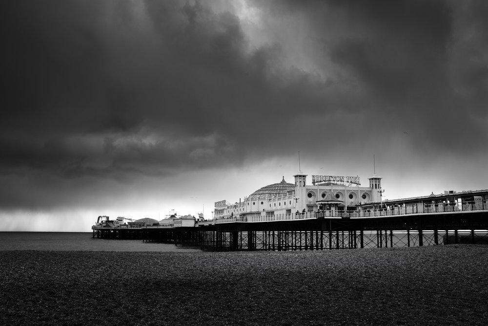 Brighton Palace Pier. Brighton, England