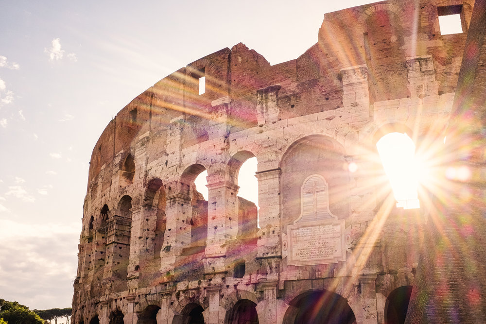 Colosseum Sunset