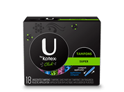 U by Kotex Super