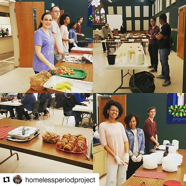 #Repost @homelessperiodproject with @repostapp ・・・ We were blessed to have so many awesome volunteers helping with the homeless breakfast and period project!  #homelessbreakfast#homelessperiodproject