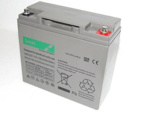 Bateria deGel sellado para alto rendimiento