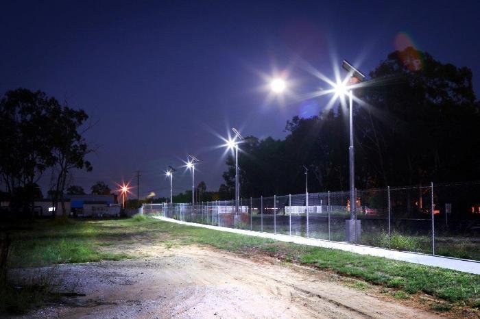 Iluminación de senderos
