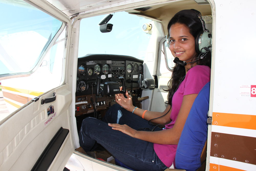 India's youngest pilot.JPG