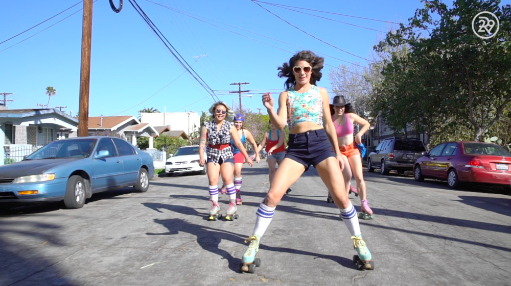 Meet The Badass Moxi Girls Skate Team