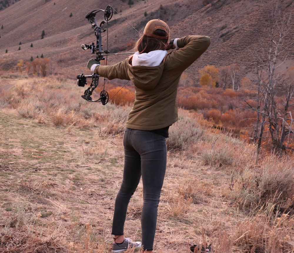 Bow Hunting - Outdoors Allie.JPG