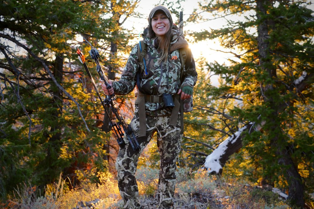 Bow Hunting Camoflauge - Outdoors Allie.JPG