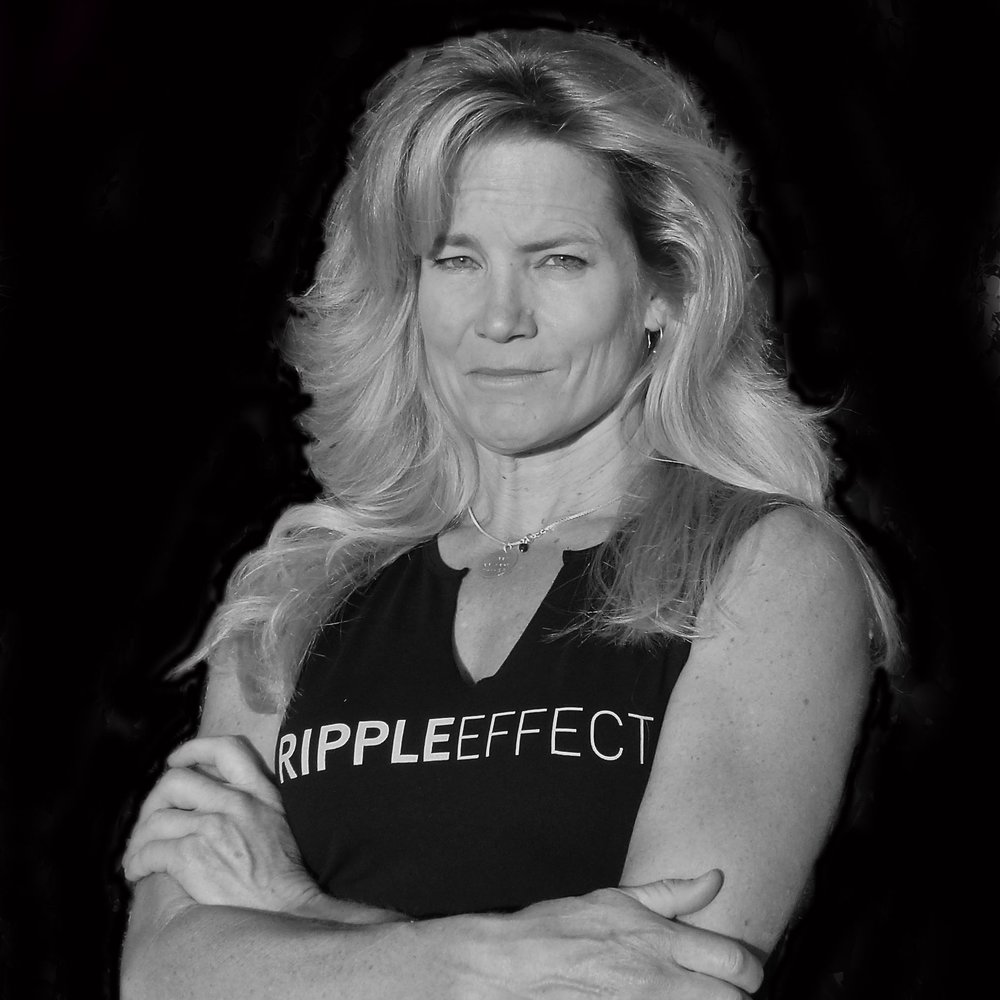 Carolyn parker - As the founder and owner of the Ripple Effect Gym in Carbondale, CO, the focus of her work and life is to engage others in activities that create positive self change, to inspire, mentor, motivate, encourage, educate, and if that means changing the world one person at a time, so be it. Carolyn derives the deepest satisfaction from seeing others succeed, however she will be the first to tell you it is not just about being faster or stronger – it is about being a more conscious human being.