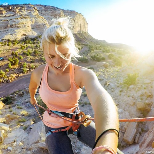 Catherine Aeppel - Catherine is an adventure photographer and filmmaker based in Colorado. From the beaches of Israel to the slot canyons of Utah, from remote islands in the Pacific to as far as Western Australia, Catherine's explorations through the lens have taken her around the world. She thrives with a camera in hand — and lives the adventures she captures. When she's not shooting, she's playing in mountains, deserts and oceans far away from crowded cities and civilization.
