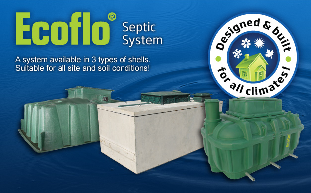 Construction services arnott bros construction for Ecoflow septic system