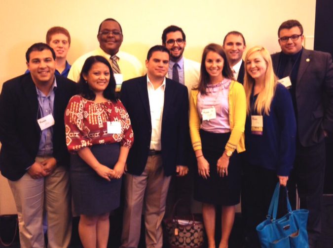 FSU HESA  LifeNet members at NASPA-FL 2013