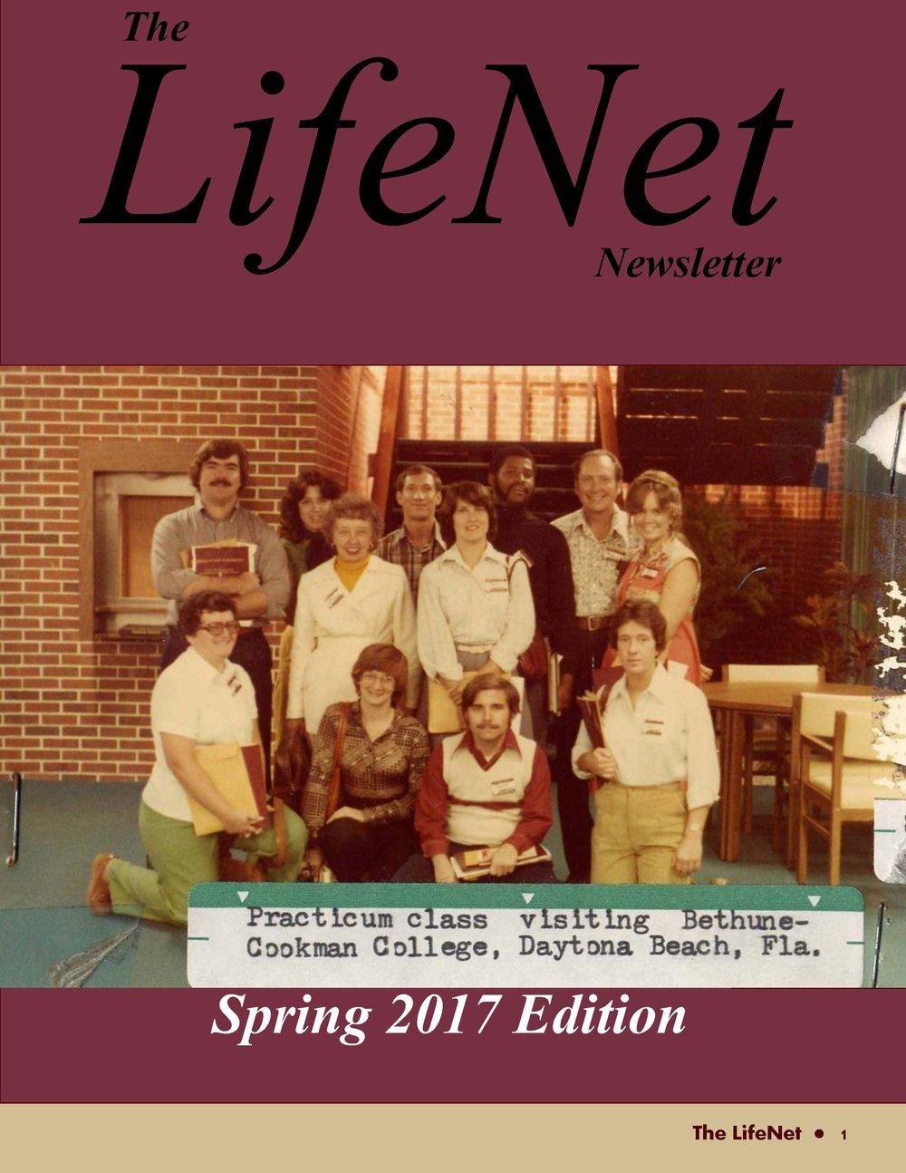 LifeNet Newsletter - Spring 2017