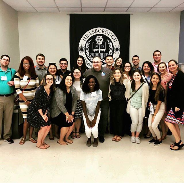 Yesterday, this group finished their Local Practicum experience! They were even able to reconnect with a member of the LifeNet at Hillsborough Community College! Some of this group is now off to London to start International Practicum on Monday. Stay tuned for exciting updates from the UK! #FSUHESAPracticum18