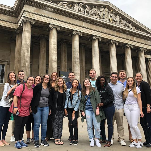 This group kicked off International Practicum in London today! #FSUHESAPracticum18