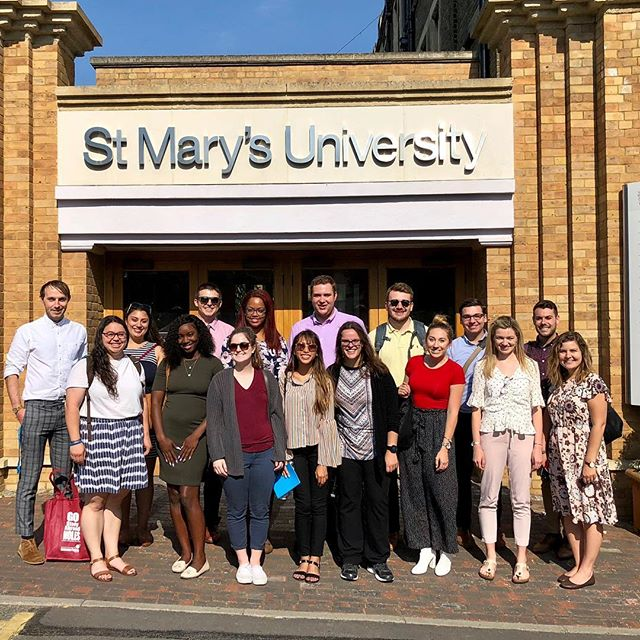 International Practicum students visited their first campus today! Thank you so much St. Mary's University for an awesome afternoon! #FSUHESAPracticum18