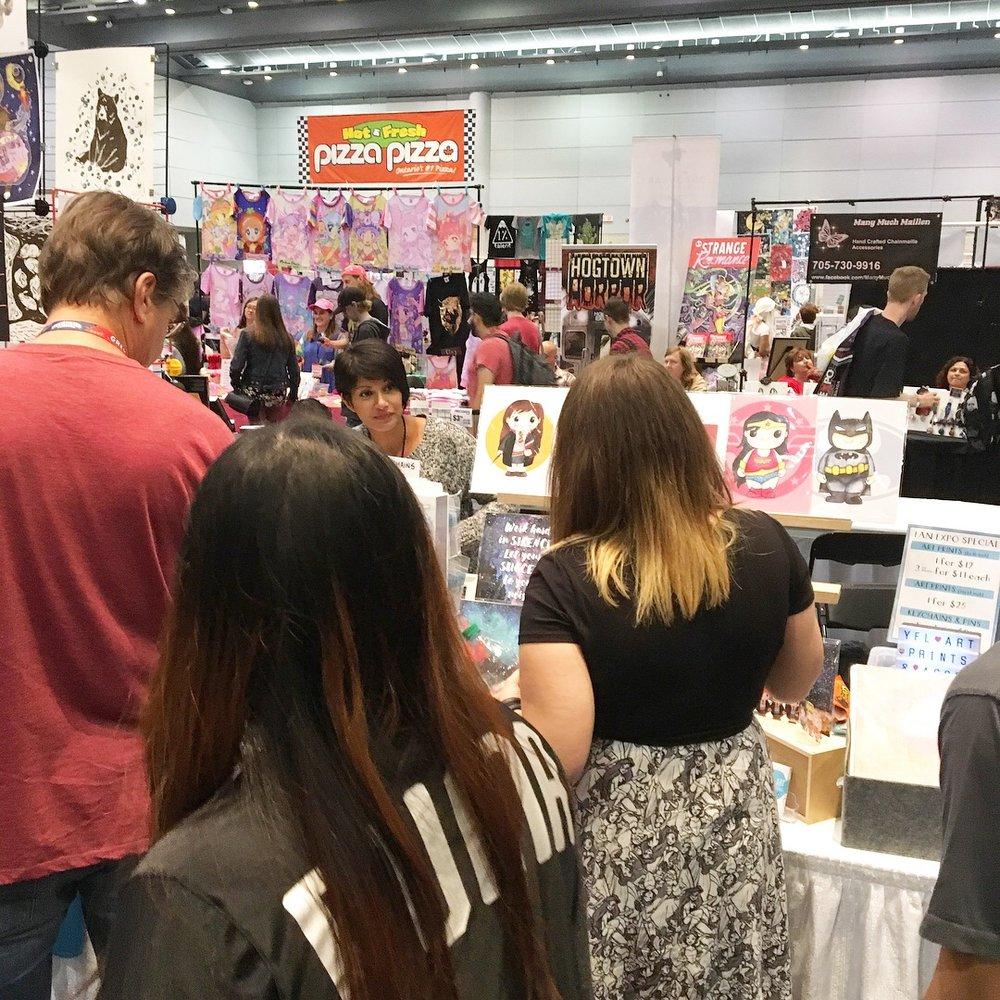 Fan Expo Toronto YFLART.JPG