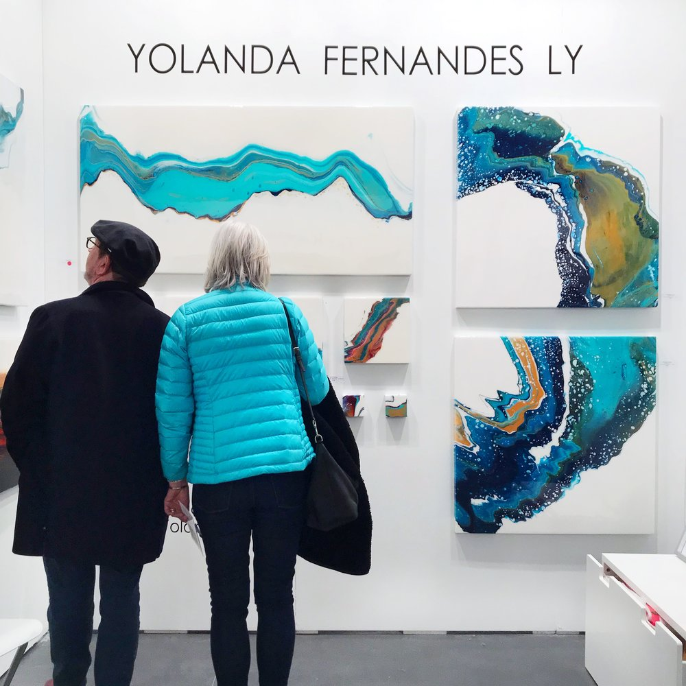 Yolanda Fernandes Ly Artist Project Toronto Art Show