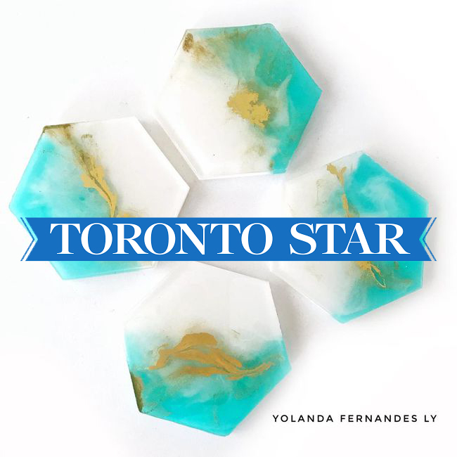 "Toronto Star - ""Competition is fierce at The One of a Kind show. These six new artisans made the cut…"""