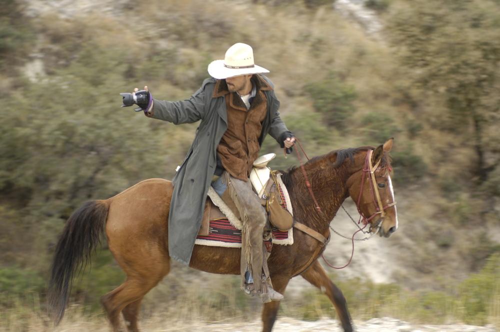 Rodrigo, the daredevil, in action