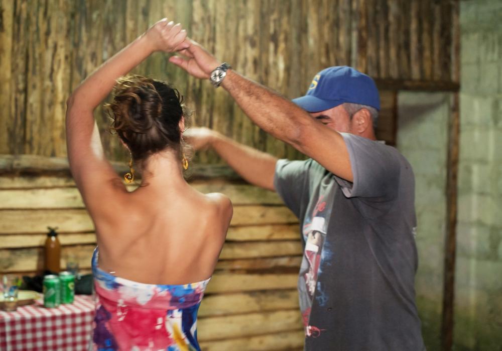 Learning Cuban Salsa from Tony