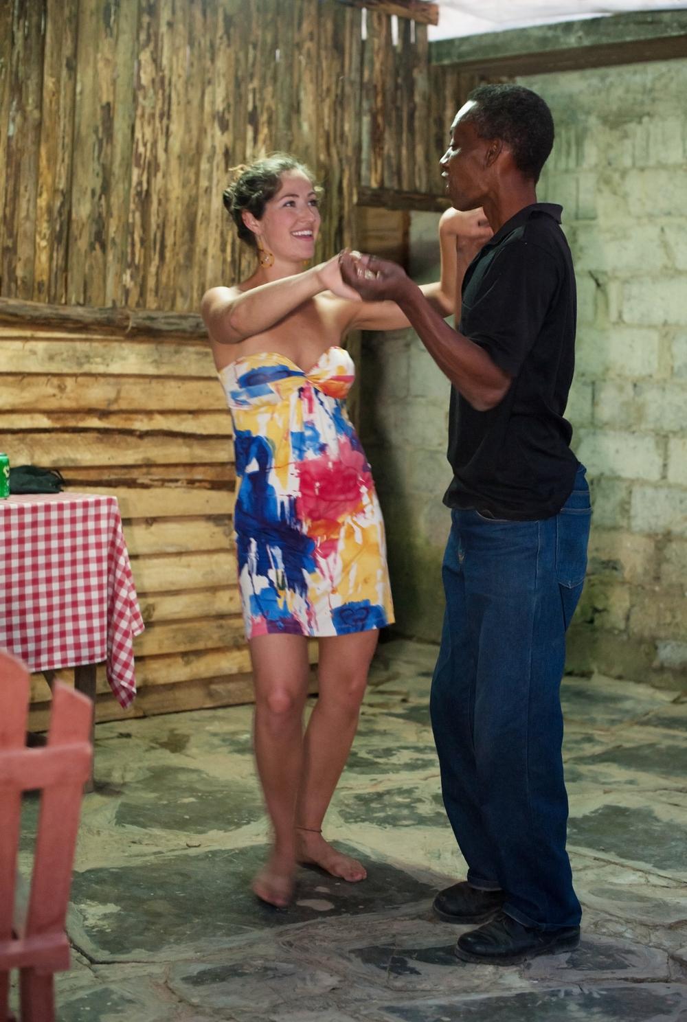 More country dancing in Cuba