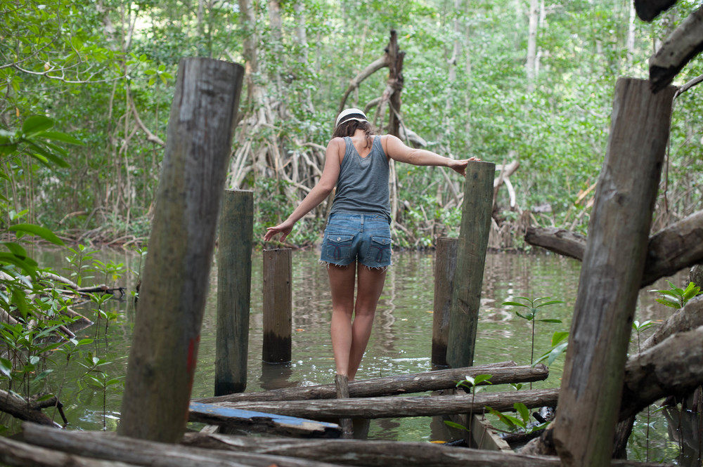 Mittie Roger, Girl Wander, and Sean Reagan Photography exploring Latina America, Mangroves of Playa Tilapita, Guatemala