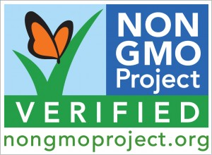 Look for this seal on food products in grocery stores to ensure the producer avoids GMO ingredients.