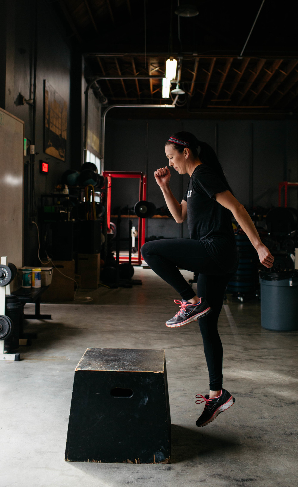 Single-Leg Box Jumps