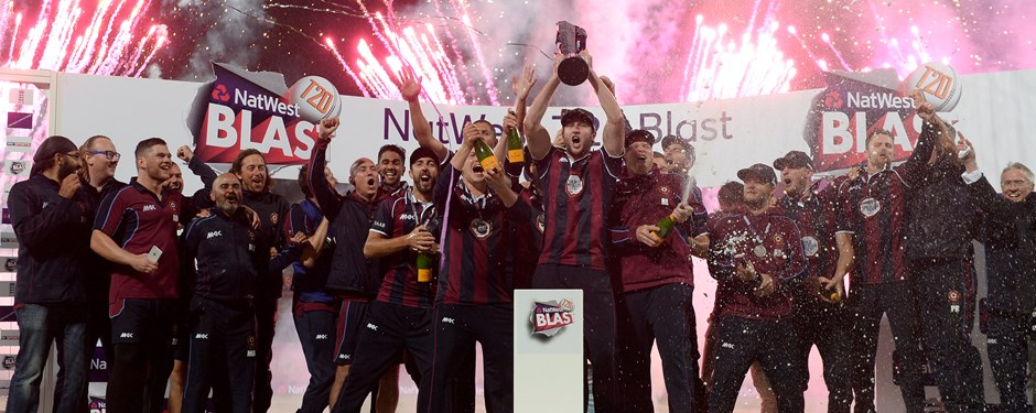 Volt Family Member Northamptonshire Steelbacks crowned champions of the NatWest T20 Blast.