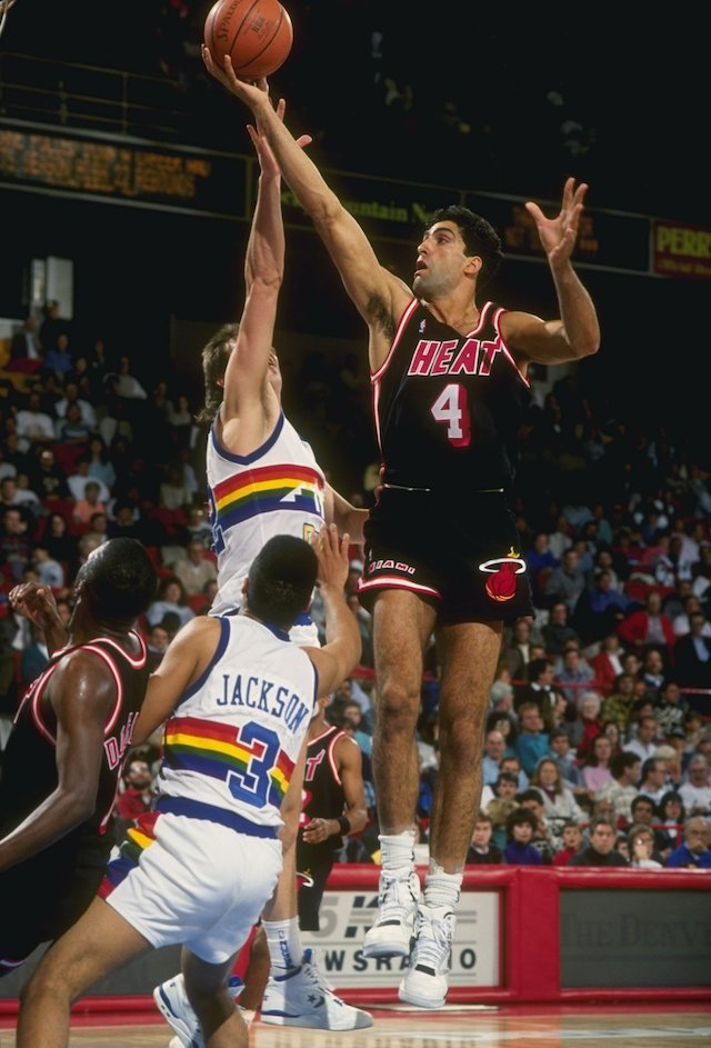 Rony Seikaly, the first-ever draft pick by the Miami Heat in 1988.