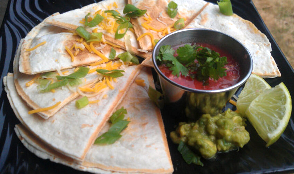 Cheese Quesadillas  (available for private parites and special events)