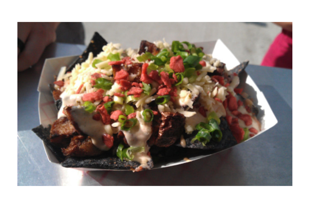 Cheezy Loaded Potato Nachos (Special of the Day)