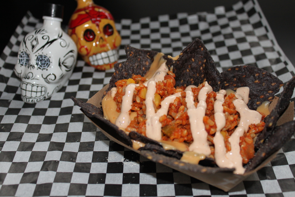 Mini Ultimate Nachos (mini portion available only for private parties and special events)