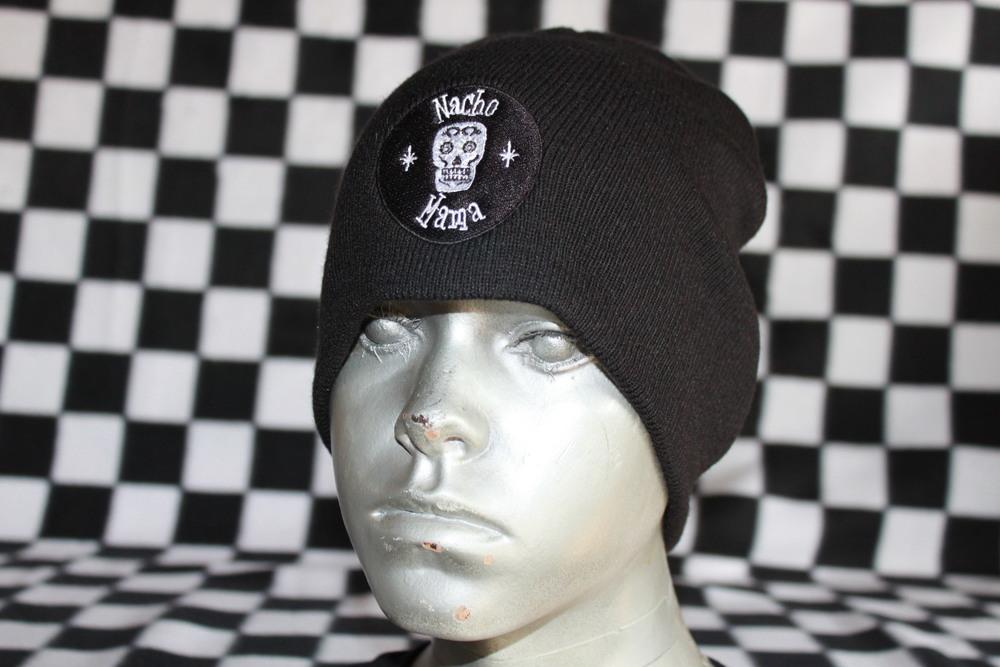 Nacho Mama's Skull Caps