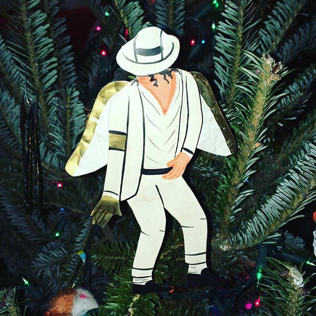 Shamone, Christmas!!! #michaeljackson #smoothcriminal