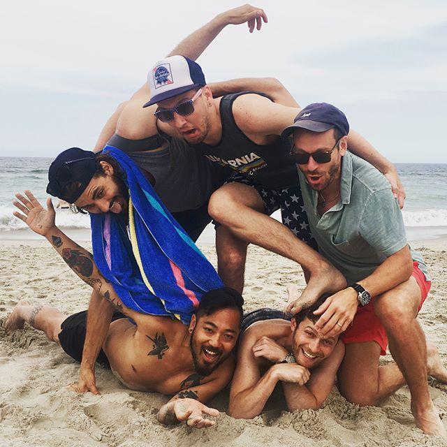 My beach friends. A masterpiece.