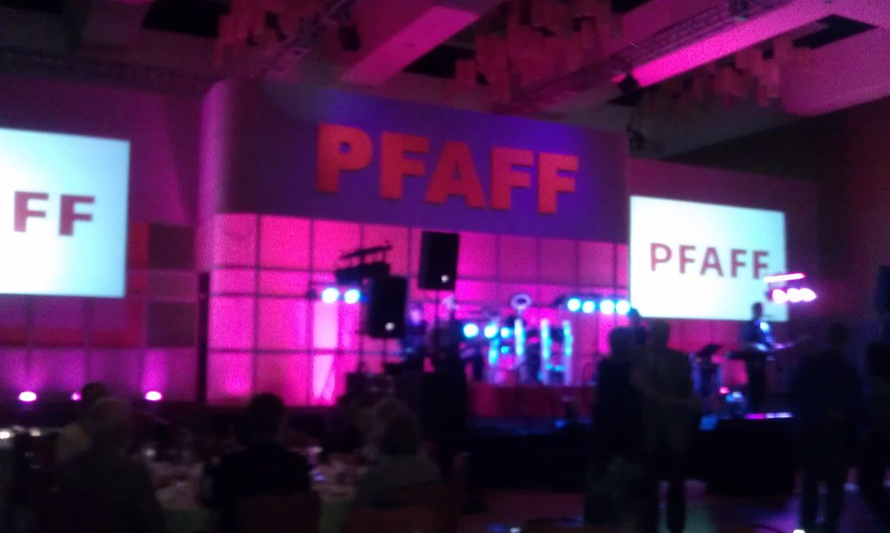 The lights! The look of Pfaff Conventions years past!