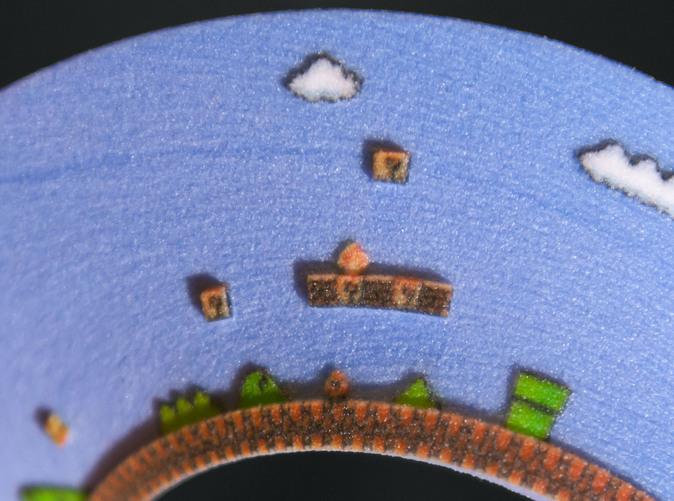 Level 1 of Super Mario Bros is a Mobius Strip?? D0P3: