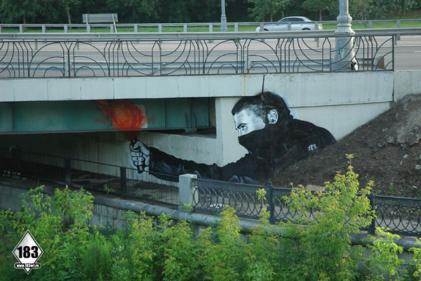 Dope: Amazing Street Art (by Pavel Puhov)