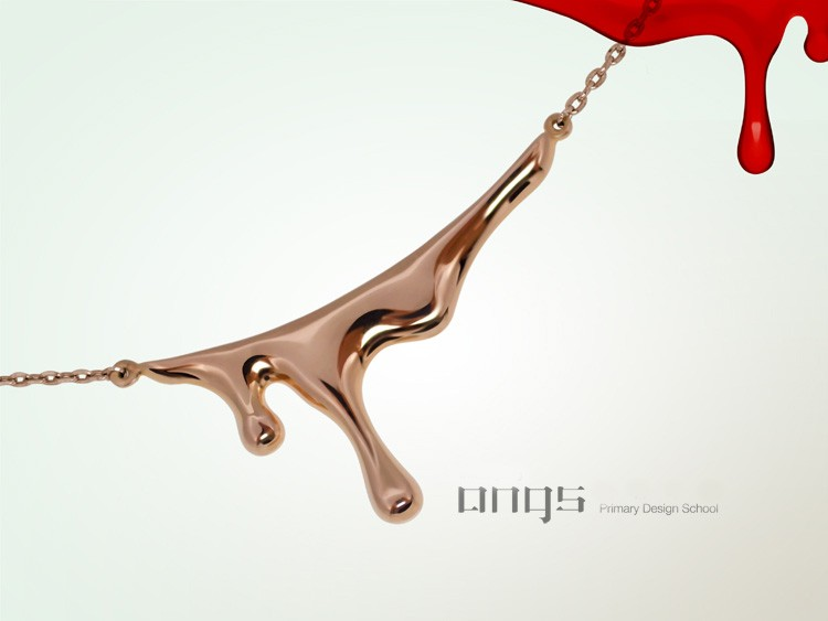 me want: (True Blood necklace by INFMETRY)