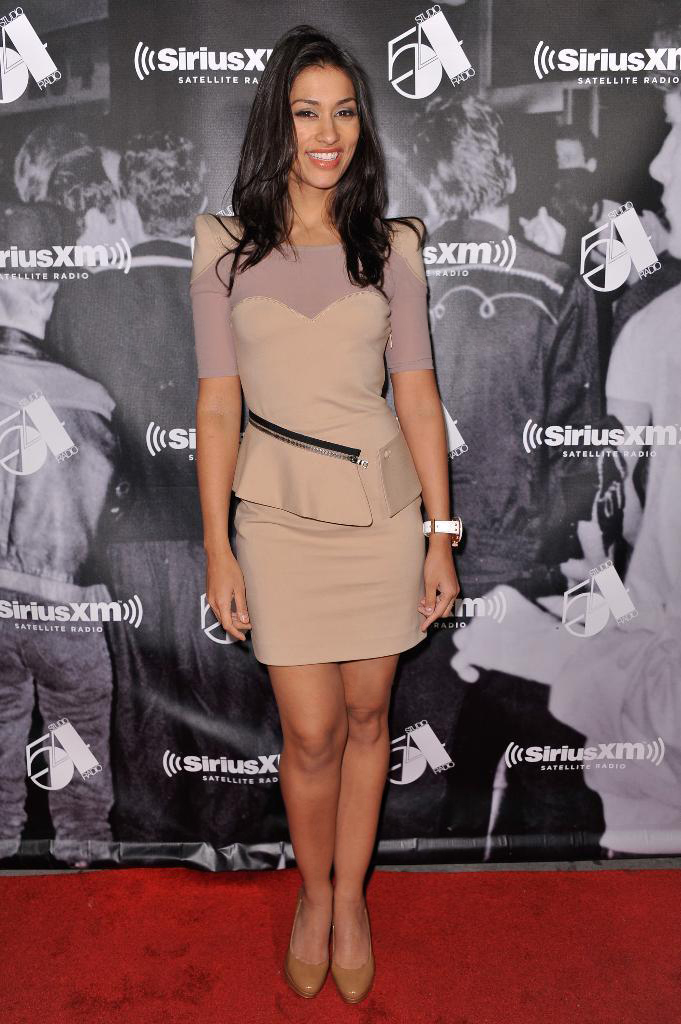 "Janina Gavankar attends SiriusXM's ""One Night Only"" at Studio 54"